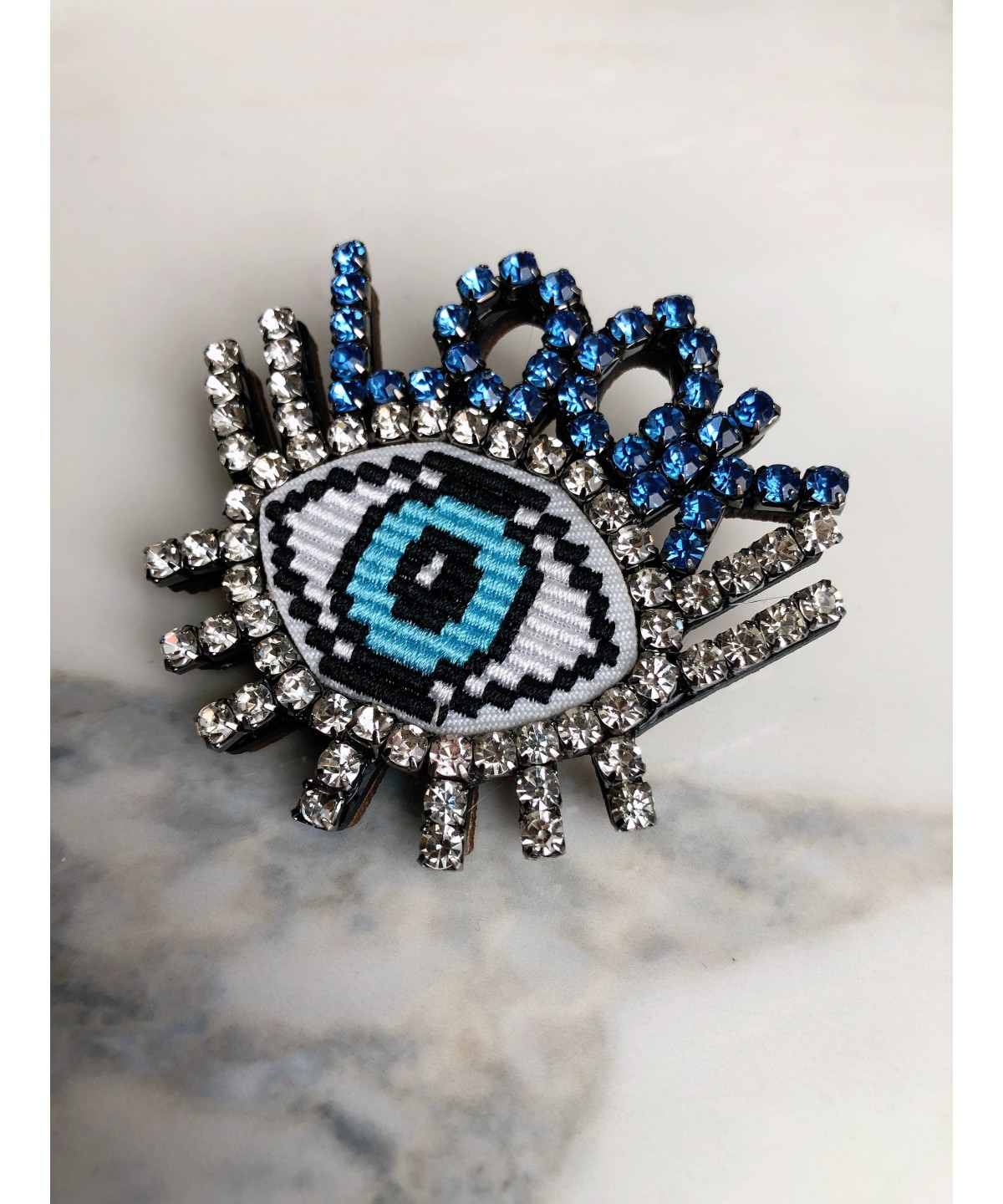 'Evil Eye' brooch