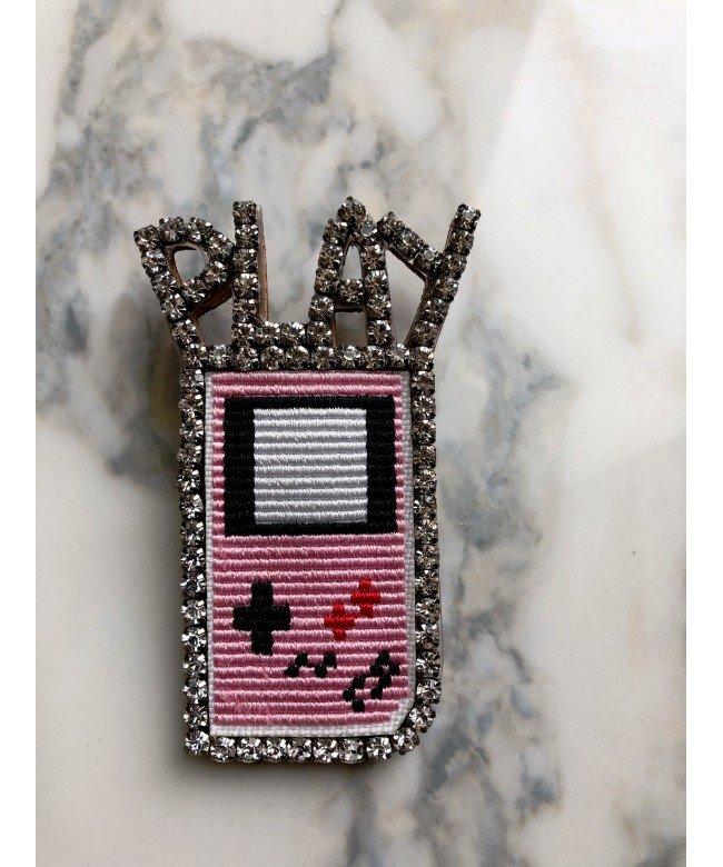 'Game Boy' brooch