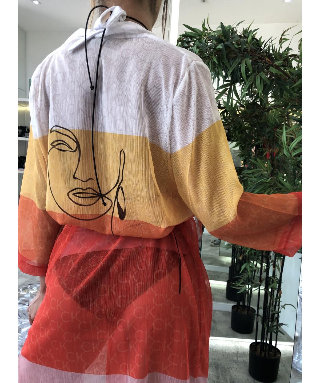 'Câlin Solaire' tunic