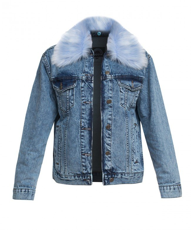 'Screwed Up' denim jacket  Kuccia