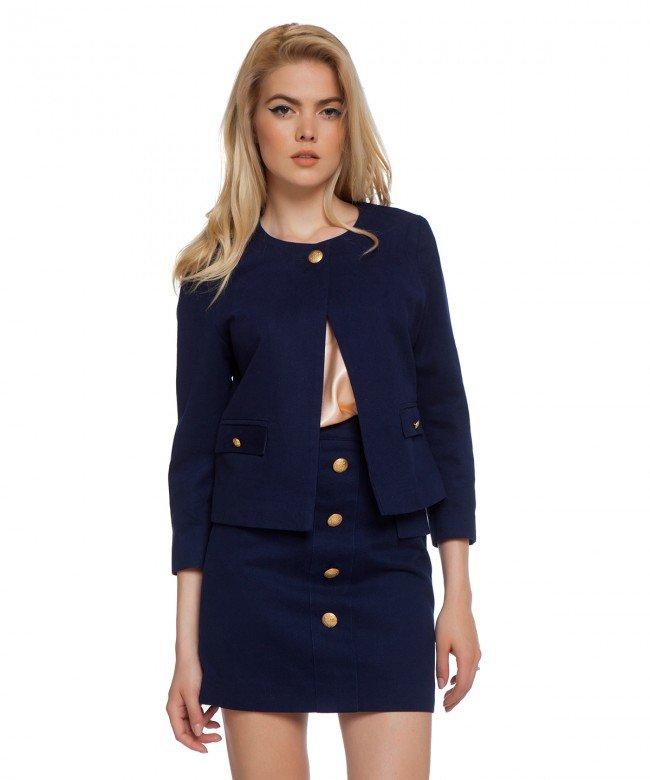 'Cobalt' jacket