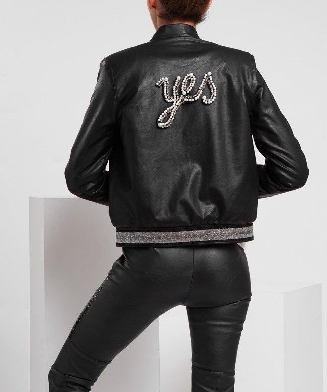'Yessssss' bomber jacket