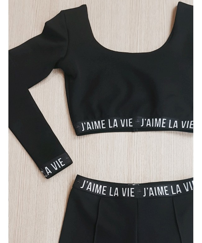 'J'AIME La Vie' leggings