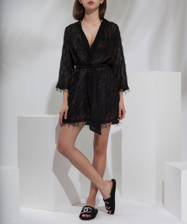 'Briller en noir' tunic