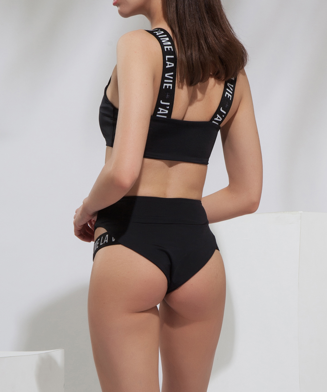 'J'AIME La Vie' high waist swimwear