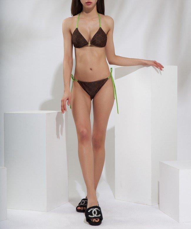 'CK LogoMania' swimwear