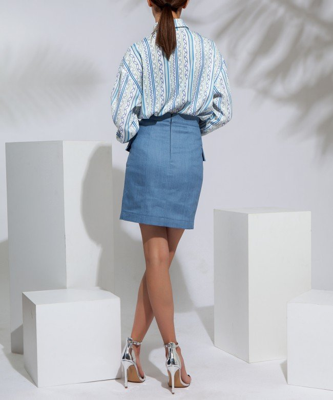 'Cote D'Azur' skirt