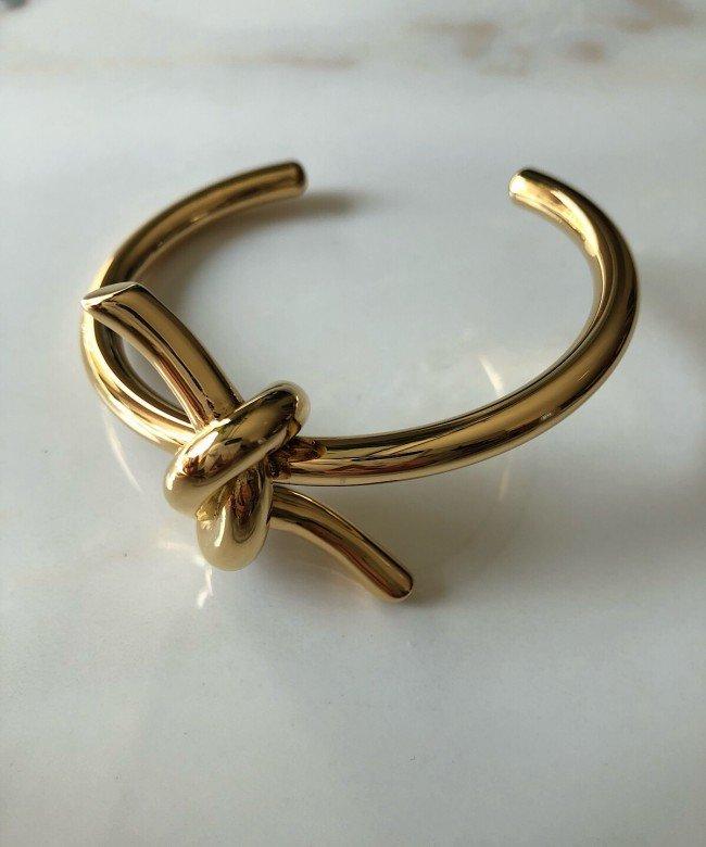 'Almara' gold bracelet