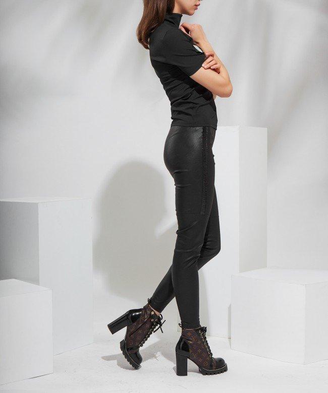 'Vinyl' trousers