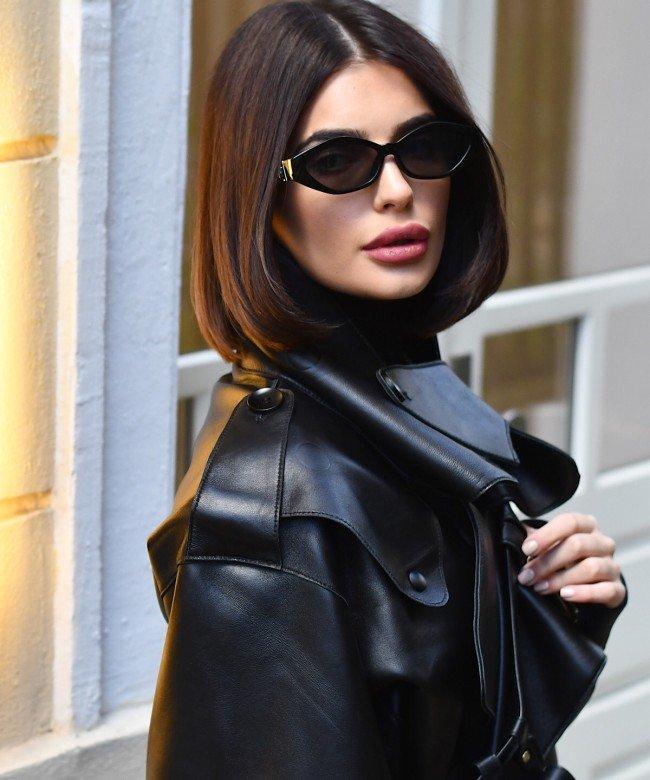 'BLADE RUNNER' black leather jacket